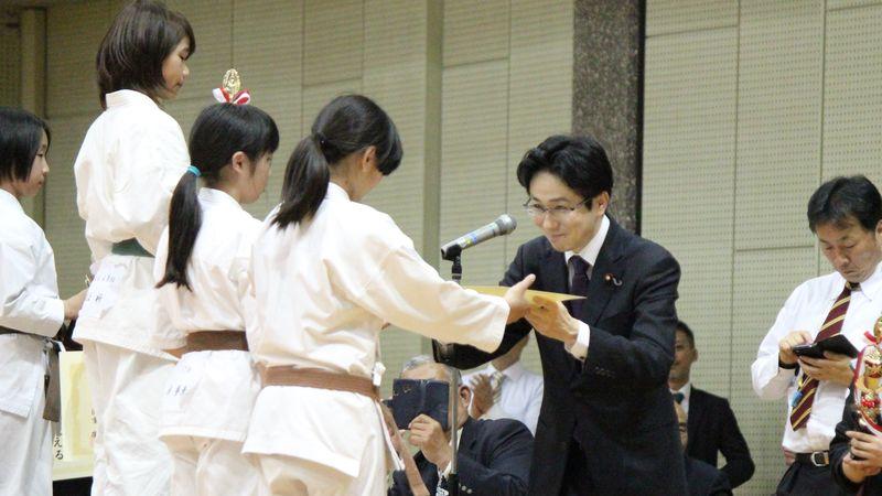 国重とおる 第2回西日本防具付空手道選手権大会