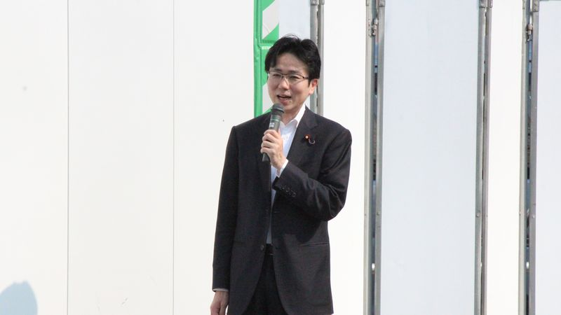 阪急淡路駅 国重とおる 国重徹